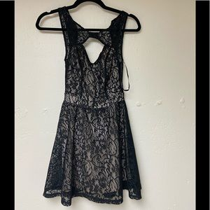 Material Girl lace dress with lining